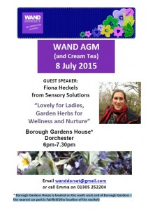 WAND AGM 2015 Poster