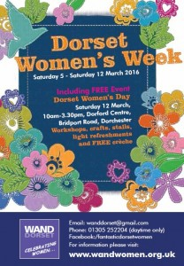 Dorset Women's Week Poster 2016