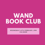 WAND Virtual book club logo