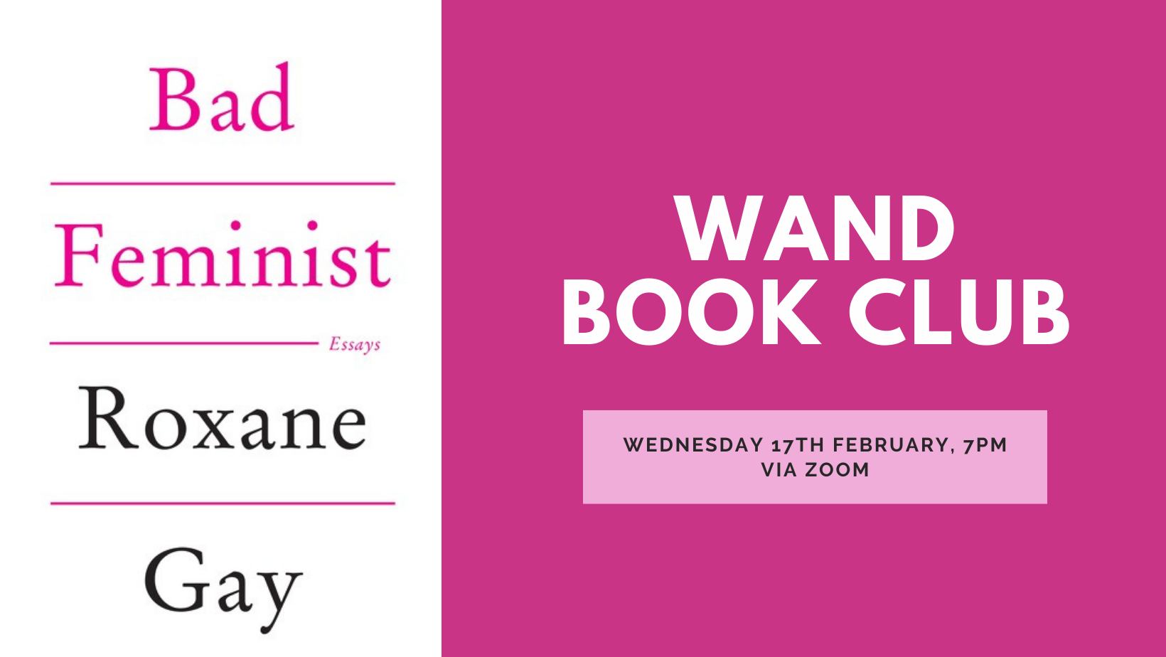 Virtual Book Club February: Bad Feminist