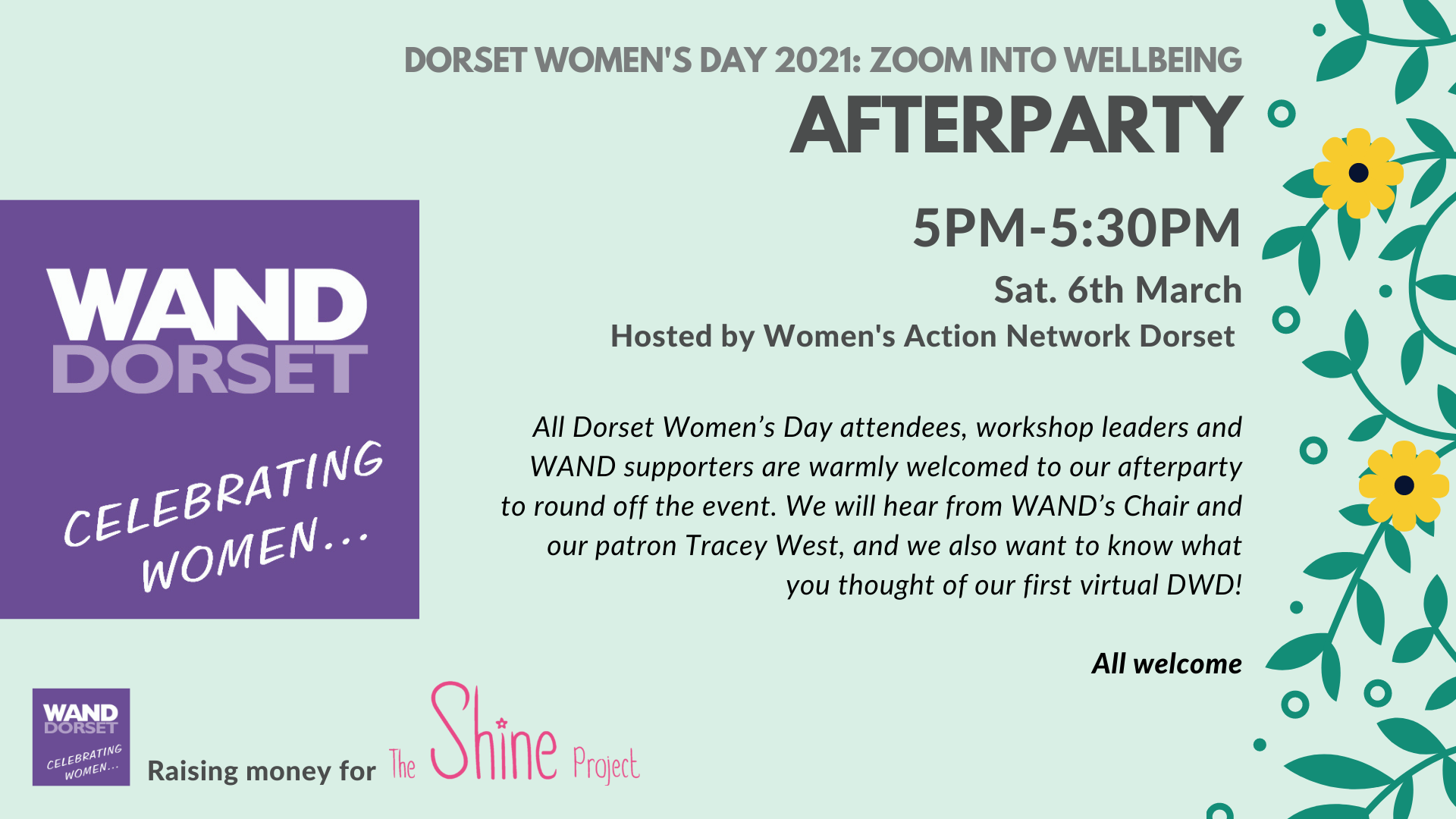 Dorset Women's Day 2021: After party!