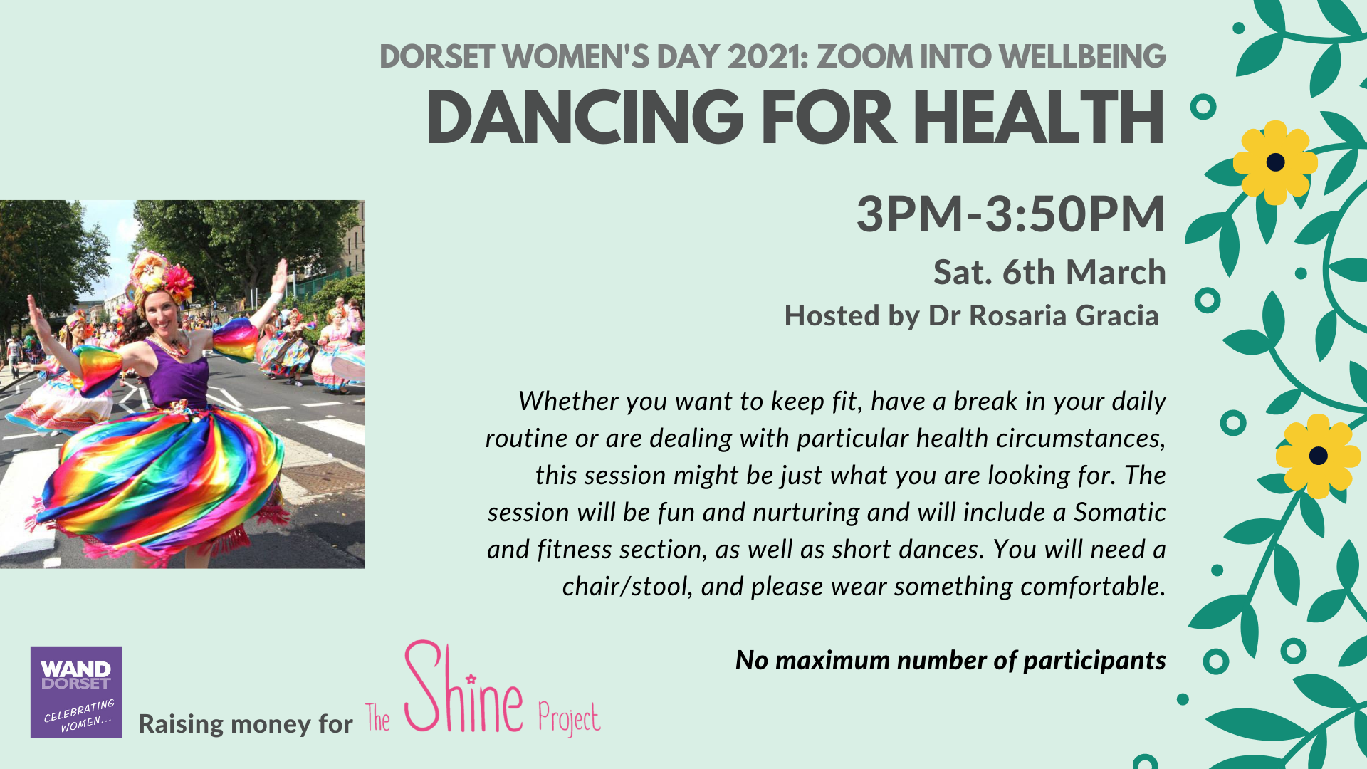 Dorset Women's Day 2021: Dancing for Health