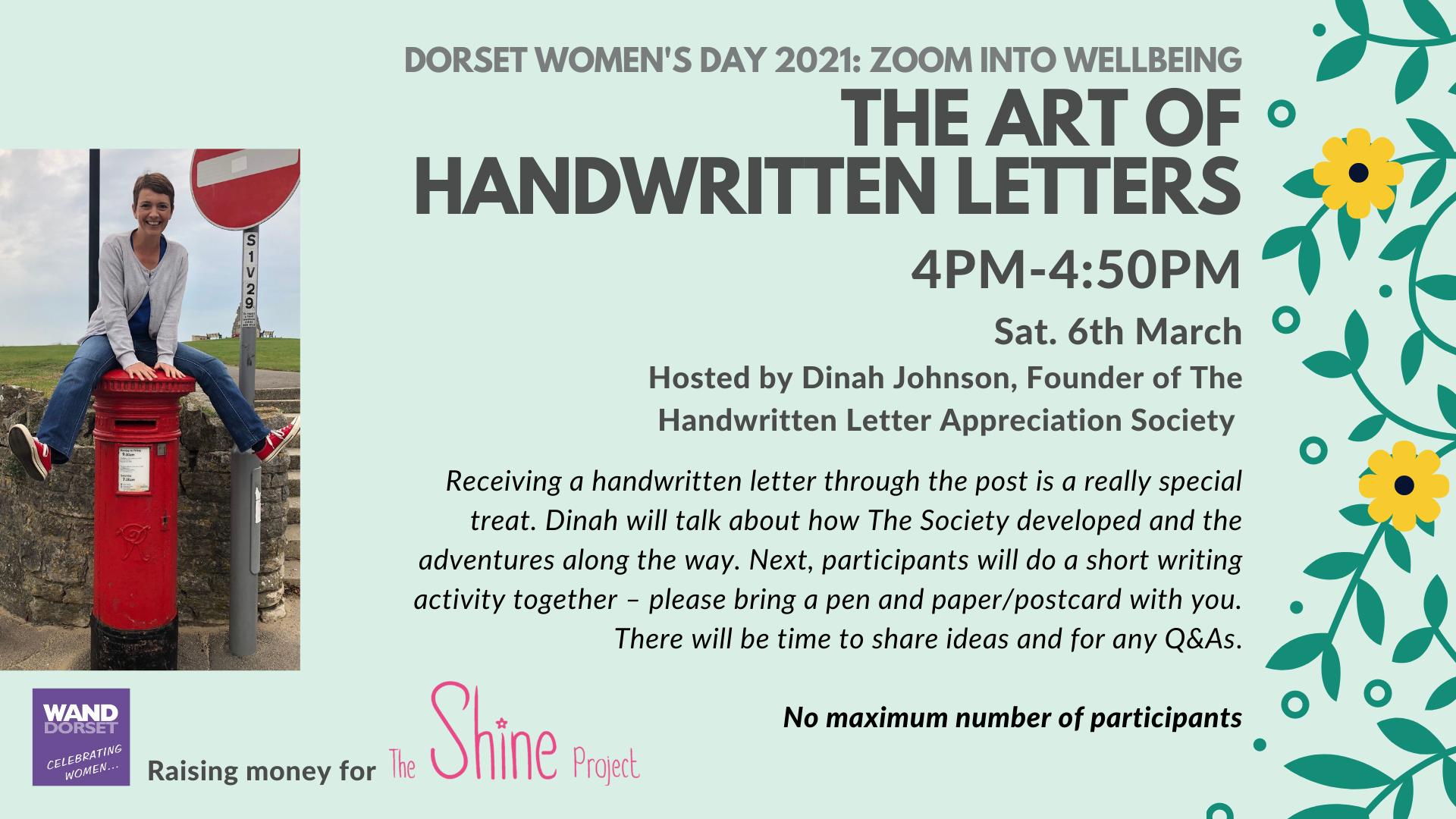 Dorset Women's Day 2021: The Art of Handwritten Letters