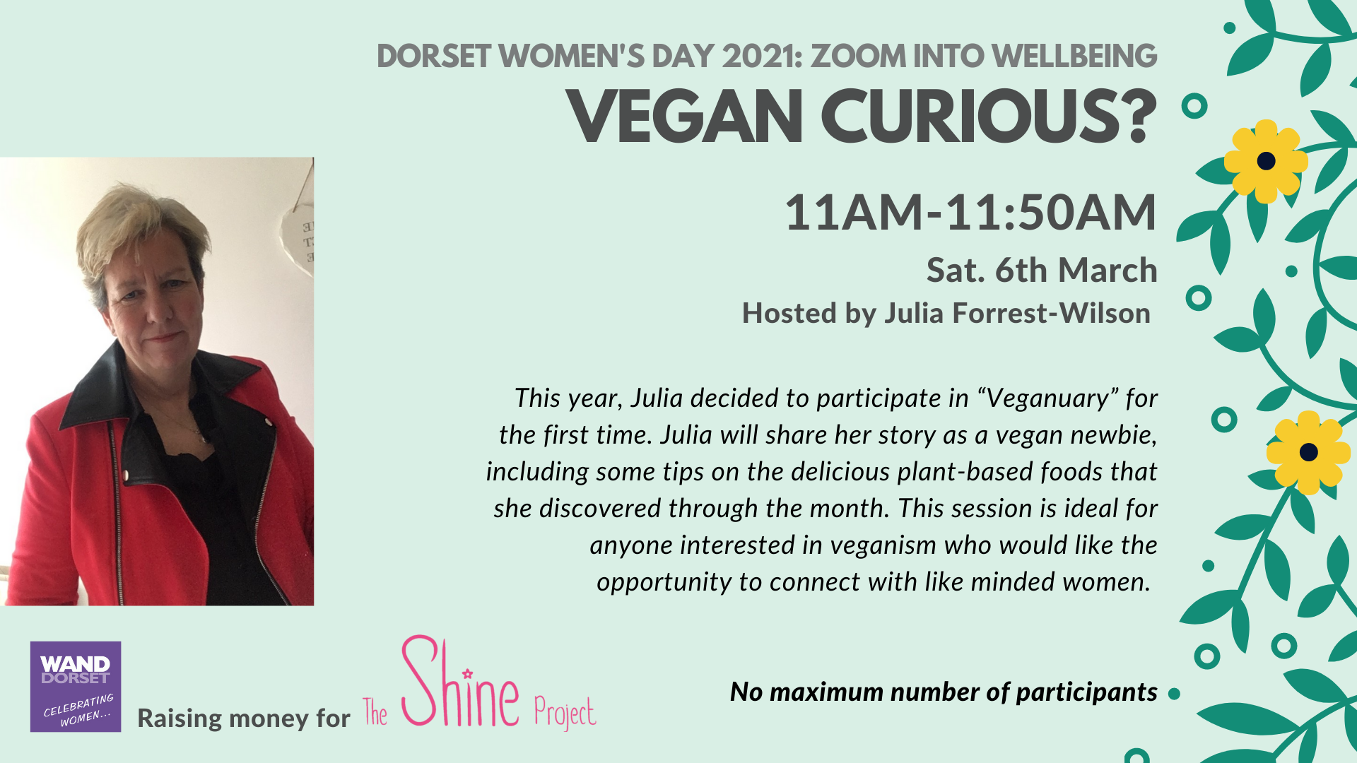 Dorset Women's Day 2021: Vegan Curious?
