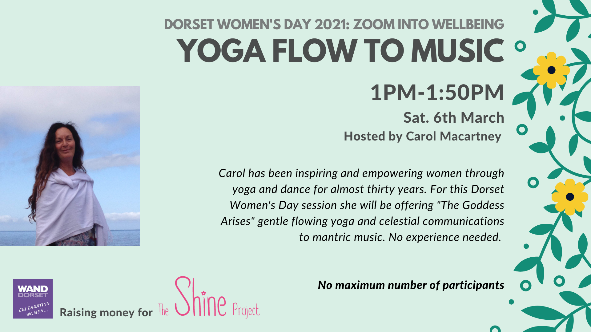 Dorset Women's Day 2021: Yoga Flow to Music
