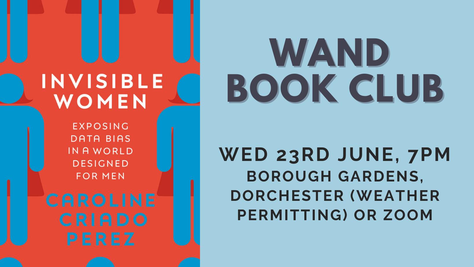 WAND Book Club #3: Invisible Women - Caroline Criado Perez